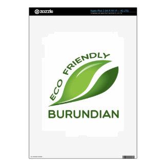 Burundian. amistoso de Eco iPad 3 Skin