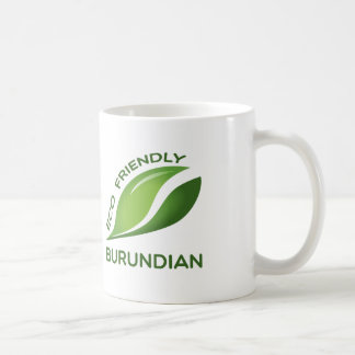 Burundian. amistoso de Eco Taza Clásica