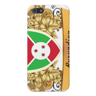 Burundian con clase iPhone 5 protector