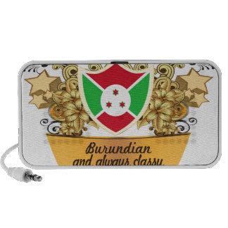 Burundian con clase iPod altavoces
