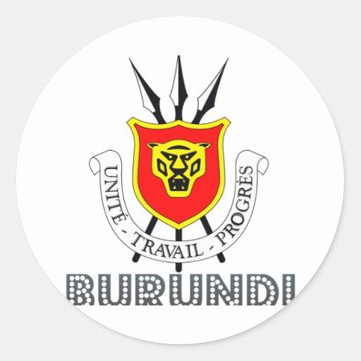 Burundian Emblem Stickers