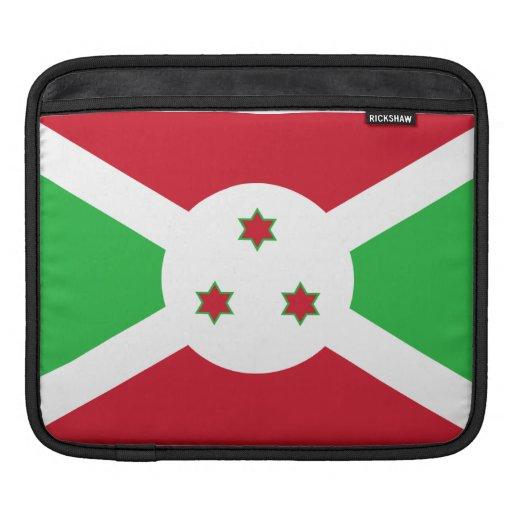 Burundian Flag iPad Sleeves