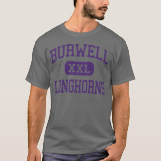 Burwell - Longhorns - High - Burwell Nebraska T-Shirt