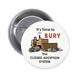 Bury Pinback Buttons