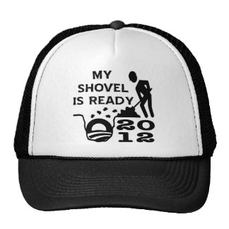Bury Obama Shovel Ready Election 2012 Trucker Hat