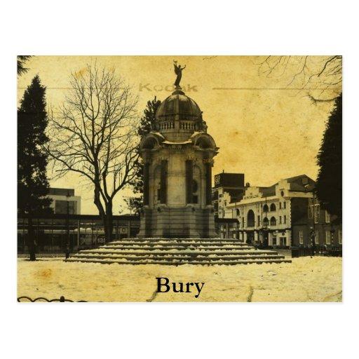 Bury Postcard