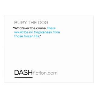 Bury the Dog Postcard
