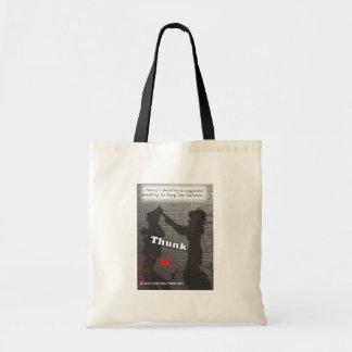 'Bury the Hatchet' Tote Bag