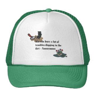 Bury Your Troubles Cap Trucker Hat