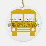 Bus Aide Day By Day Ornament