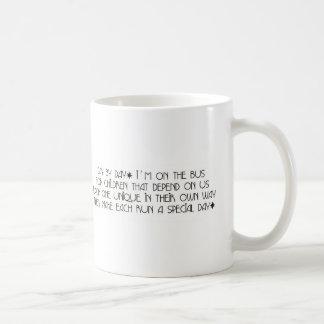 Bus Aide - Day By Day Poem Mug II