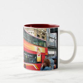 Bus Back Two-Tone Coffee Mug