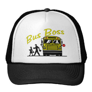 Bus Boss - Male Driver Trucker Hat