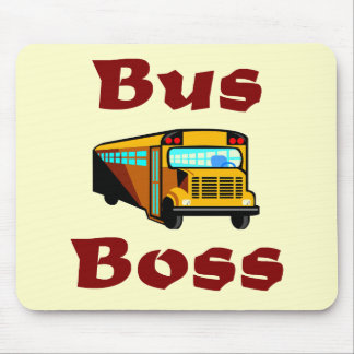 Bus Boss Mousepad