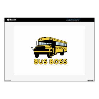 Bus Boss Laptop Skins