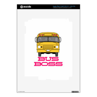 Bus Boss Skins For iPad 3