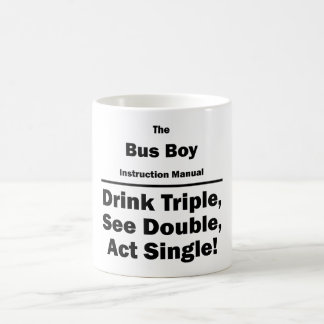 bus boy coffee mug