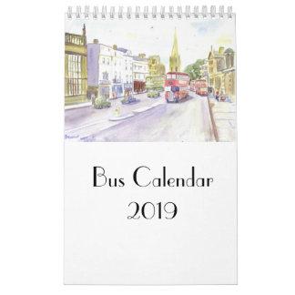 Bus Calendar 2019