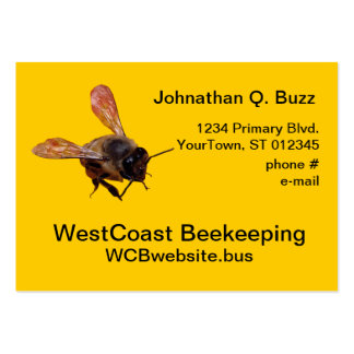 Bus. card - Beekeeping Large Business Card