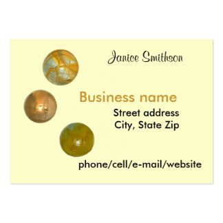 Bus. Card - Marbles Large Business Cards (Pack Of 100)