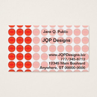 Bus. Card - Red Dots