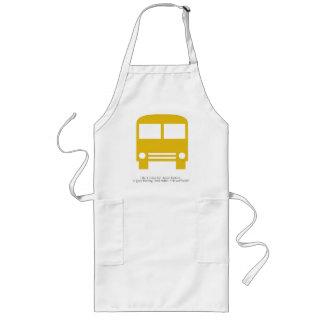 Bus Driver A Good Morning Smile Yellow Bus Long Apron