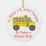 Bus Driver Christmas Ornaments