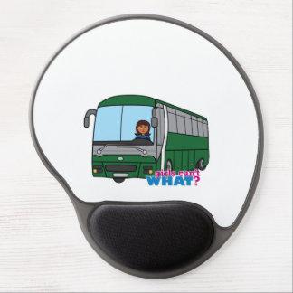 Bus Driver - Dark Gel Mouse Mats