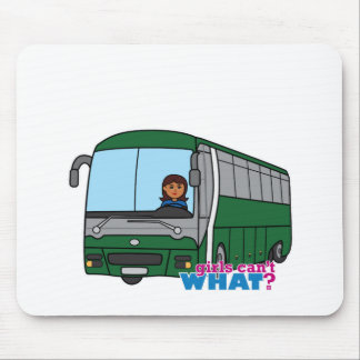 Bus Driver - Dark Mouse Pad