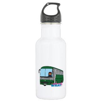 Bus Driver - Dark Stainless Steel Water Bottle