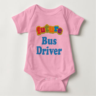 Bus Driver (Future) For Child Baby Bodysuit