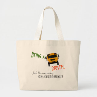 Bus Driver Humor Tote Bag