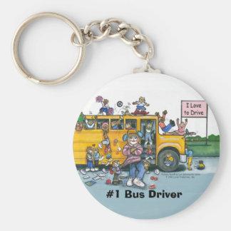 Bus Driver Keychain