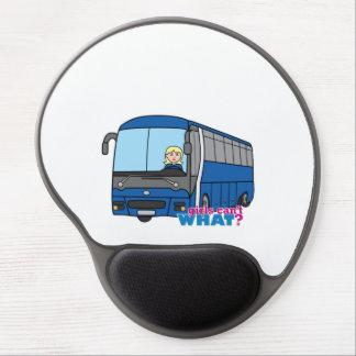 Bus Driver - Light/Blonde Gel Mouse Pad