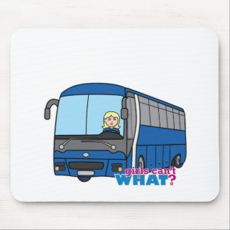 Bus Driver - Light/Blonde Mouse Pad