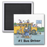 Bus Driver Magnet