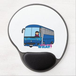 Bus Driver Medium Gel Mouse Pad