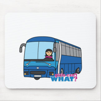 Bus Driver Medium Mouse Pad
