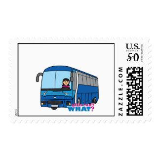 Bus Driver Medium Postage