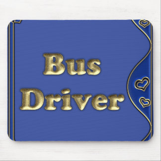 Bus Driver Mouse Pad