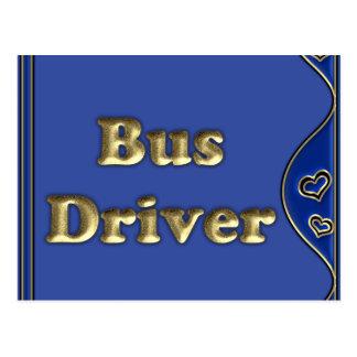 Bus Driver Postcard