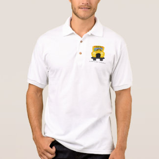 Bus Driver Scare (customizable) Polo Shirt