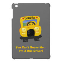 Bus Driver Scare iPad Mini Case