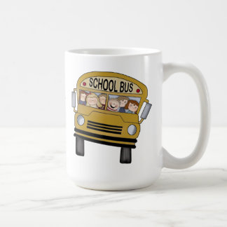 Bus Driver with Poem Mugs