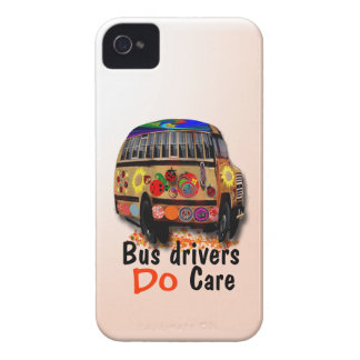 Bus Drivers Do Care iPhone 4 Cover