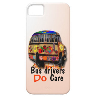 Bus Drivers Do Care iPhone 5 Cases
