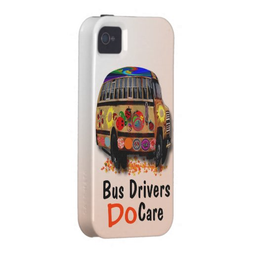 Bus Drivers Do Care iPhone 4 Cases
