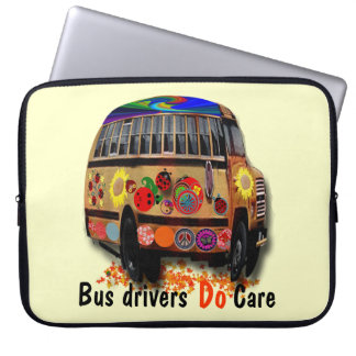 Bus drivers Do Care Laptop Sleeve