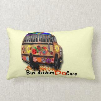 Bus Drivers Do Care Lumbar Pillow