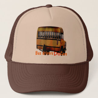 Bus Drivers Do Care Trucker Hat